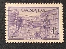 Buy Canada used stamp 1v #283 - Founding of Halifax (1949) 4¢