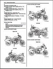 Buy 2007-2008-2009 Suzuki GSF650 / GSF650S / GSX650F Bandit Service Manual on a CD