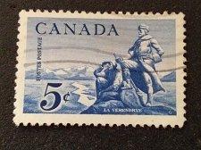 Buy Canada 1958 postage stamp 1v Used La Verendrye