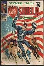 Buy Strange Tales #163 DR. STRANGE / SHIELD VG STERANKO / ADKINS 1966