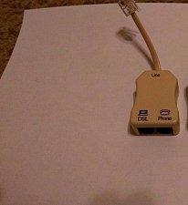 Buy new Suttle 900LCS 50E FILTER ed 1 inline DSL jack ethernet phone fax modem plug