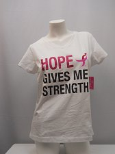 Buy Womens T-Shirt Breast Cancer Awareness SUSAN G KOMEN White SIZE M