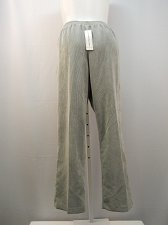 Buy Womens Casual Corduroy Pants ALFRED DUNNER Plus Size 22W Grey Short Proportioned