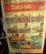 Buy TARZAN HAL FOSTER 9-15-35 SUNDAY Original COMIC STRIP! Platinum-Age Burroughs