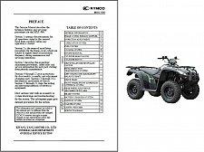 Buy Kymco MXU 500 ATV Service Manual on a CD -- MXU500
