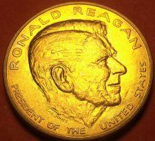 Buy Gem Unc Ronald Reagan Presidential Bronze Inauguration Medallion~Free Shipping