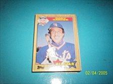 Buy GARY CARTER 1987 Topps #602 All Star HOF METS free shipping