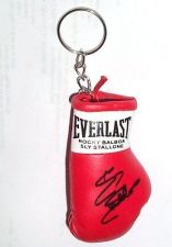 Buy Autographed Mini Boxing Glove keyring Rocky Balboa / Sly Stallone