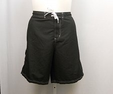 Buy PLUS SIZE 22 Women Swim Long Board Shorts SWIMSUITS FOR ALL Solid Black Pocket