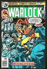 Buy WARLOCK #13 Jim Starlin 1st print 1976 VF- Leiahoha GUARDIANS OF THE GALAXY