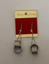 Buy Women Drop Dangle Fashion Earrings Rhinestones Silver Springs FASHION JEWELRY