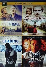 Buy 4movie DVD JEKYLL & HYDE,SERPENT's KISS,LOVE & RAGE,LEADING MAN,Michael CAINE