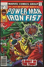 Buy Power Man and Iron Fist #51 Marvel Comics VF- 1978 MIKE ZECK / CHRIS CLAREMONT