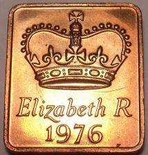Buy Great Britain 1976 Proof Set Medallion~