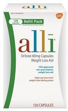 Buy Alli Orlistat FDA Approved 60 Milligram Weight Loss Aid, 120 Capsules