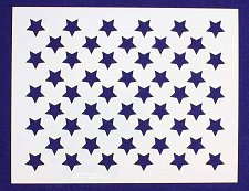 "Buy 50 Star Stencil 14 mil Mylar- 6""Hx7.75""L- Painting/Crafts/Template"