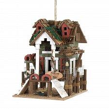 Buy *15476U - Fishing Pier Wood Beach Birdhouse