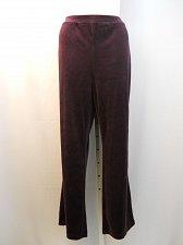 Buy Women Yoga Pants PLUS SIZE 2X CHARTER CLUB Solid Purple Velour Active Wear