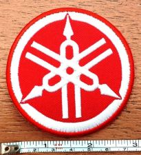 Buy New Yamaha Logo Motorcycle Racing embroidered iron on patch Free shipping