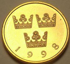 Buy Sweden 1998 50 Ore Unc