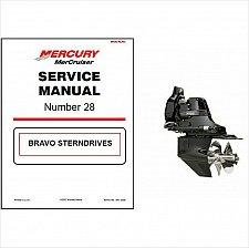 Buy 2000-2011 MerCruiser #28 Bravo Sterndrive Service Repair Workshop Manual CD