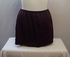 Buy SIZE 20 Women Swim Skirt SWIM365 Solid Deep Purple Attached Brief Elastic Waist