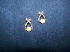 Buy Pearl Post Earrings~Fashion Jewelry