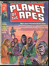Buy Planet of the Apes #1 Marvel Comics MAGAZINE B&W 1974 great art old WOW ART