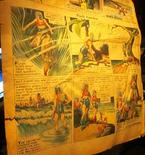 Buy Flash Gordon June 14, 1936 Alex Raymond art Original Sunday Newspaper Strips