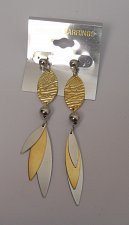 Buy Women Fashion Drop Dangle Earrings Gold Silver Tones Push Backs Fasteners FASHIO