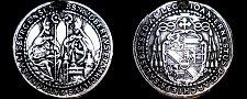 Buy 1694 Salzburg 1/2 Thaler World Silver Coin - Austria - Johann Ernst - Ex Mount