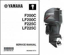 Buy Yamaha F200 LF200 F225 LF225 4-Stroke Outboards Service Repair Manual CD