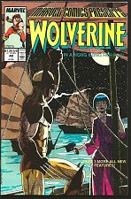 Buy Marvel Comics Presents WOLVERINE #40 Fine + or better Marvel Comics 1989