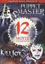 Buy 12movie DVD Puppet Master,Killjoy,Nita TALBOT Chandra WEST Erica SHAFFER,RETRO