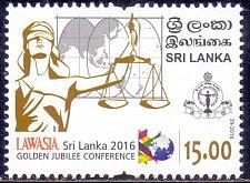 Buy Sri Lanka Post: 2016 MNH STAMP 1V LAWASIA Golden Jubilee Conference