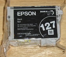 Buy Epson 127 XL T1271 black ink jet = printer WorkForce 545 630 645 NX530 NX625