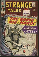 Buy Strange Tales #139 Dr. Strange: Ditko, SHIELD by Kirby/Sinnott 1965 Stan Lee