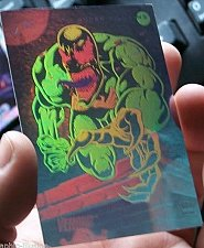 Buy VENOM CARD - Marvel Hologram like PROMO card Non Sport Trading Card