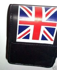 Buy Real Leather cigarette Pouch/Case Union Jack UK flag