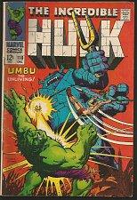 Buy Hulk #110 VG+ Marvel Comics 1968 Stan Lee Trimpe