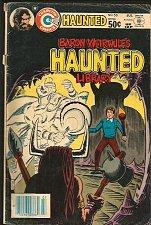Buy Baron Weirwulf's HAUNTED LIBRARY #56 Charlton Comics 1981 looks VG Steve Ditko