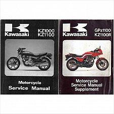 Buy 1983-1984-1985 Kawasaki GPz1100 / KZ1100R Service Manual on a CD