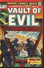Buy VAULT OF EVIL #18 Marvel Comics 1975 Spooky Tales in Time for Halloween