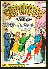 Buy SUPERBOY #104 DC Comics VG+/Fine range 1963 Silver Age 1st Print