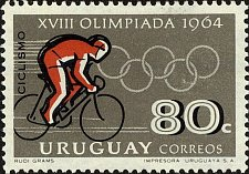 Buy Uruguay 1v mnh Stamp 1965 Mi1014 Summer Olympic Games Tokio