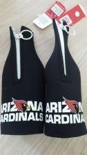 Buy (2) Arizona Cardinals (Black) Zipper Bottle Koozies (405)