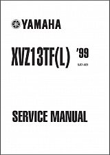 Buy 1999-2010 Yamaha Royal Star Venture 1300 ( XVZ13TF ) Service Manual on a CD