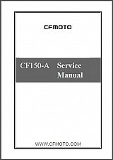 Buy CFMoto Leader 150 ( CF150-A ) Service Manual on a CD