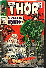 Buy THOR #150 SILVER AGE JACK KIRBY STAN LEE Marvel Comics 1967/1968