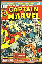 Buy Captain Marvel #30 FINE+ JIM STARLIN THANOS Cameo GUARDIANS OF THE GALAXY 1976